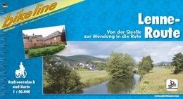 Fietsgids Lenne-route   Bikeline