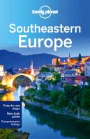 Reisgids Southeastern Europe   Lonely Planet   Lonely Planet Staff,Marika Mcadam