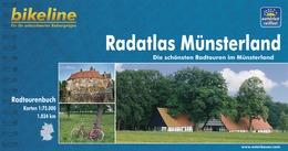 Fietsgids Radatlas M�nsterland   Bikeline