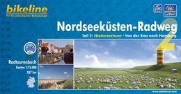 Fietsgids Nordseekusten radweg 2 NSCR   Bikeline