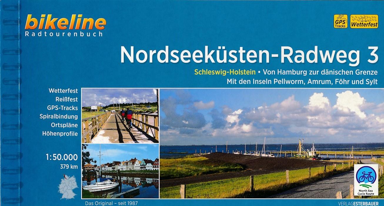 Fietsgids Nordseekusten radweg 3 NSCR Duitsland   Bikeline