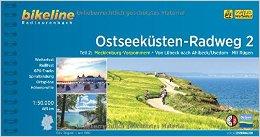 Fietsgids Ostseek�stenradweg 2 Lubeck naar Usedom met R�gen  Bikeline