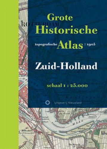 Grote Historische topografische atlas Zuid-Holland   Nieuwland