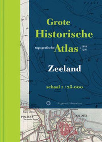 Grote Historische topografische atlas Zeeland   Nieuwland