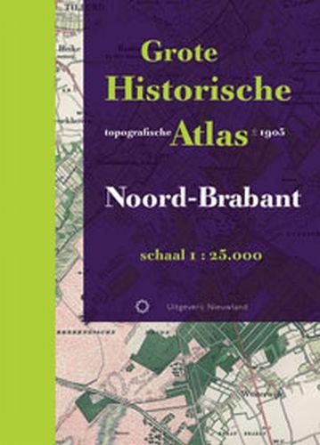 Grote Historische topografische atlas Noord-Brabant   Nieuwland