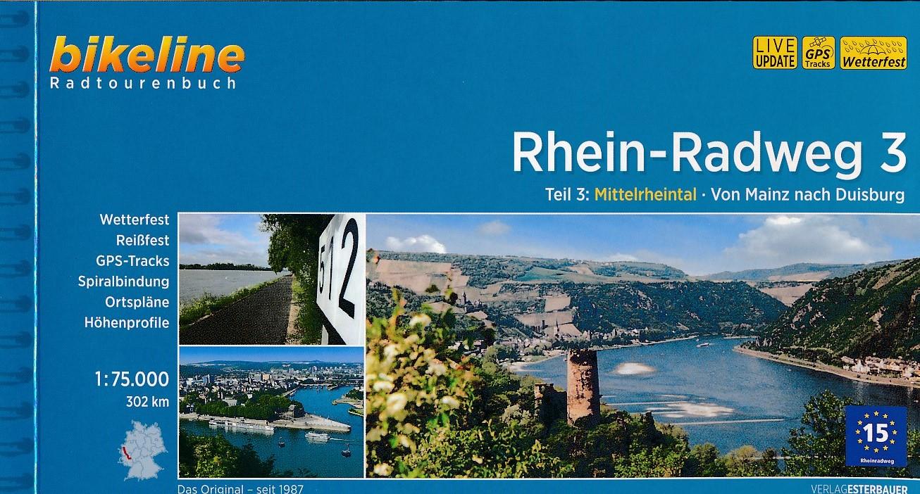 Fietsgids Rhein radweg 3   Bikeline