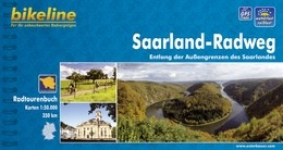 Fietsgids Saarland-radweg   Bikeline