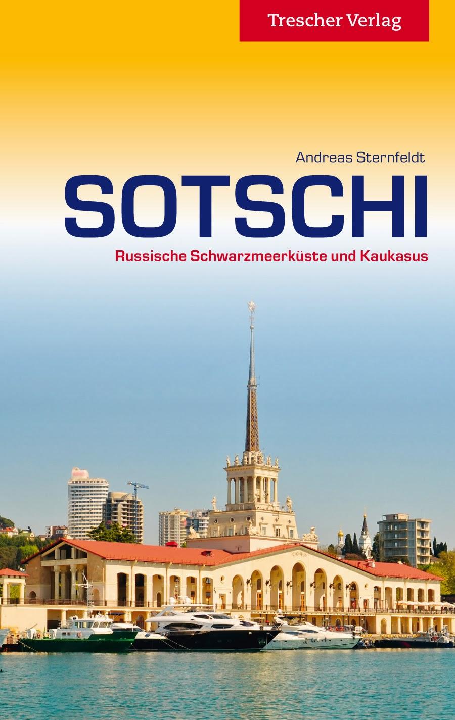 Reisgids Sotschi   Trescher Verlag   Andreas Sternfeldt