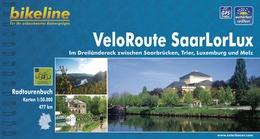Fietsgids Veloroute SaarLorLux - Luxemburg - Duitsland - Frankrijk   Bikeline