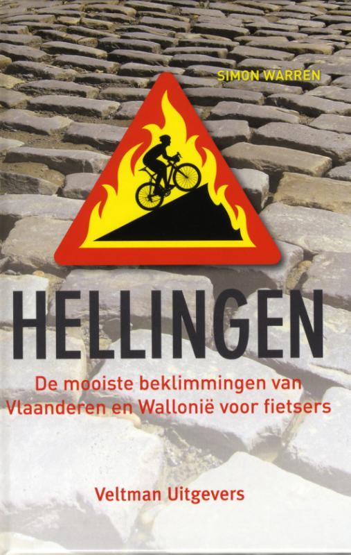Fietsgids Hellingen in Vlaanderen en Wallonië   Veltman   Simon Warren