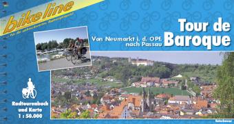Fietsgids Tour de Baroque, Van Neumarkt in de Oberpfalz naar Passau   Bikeline