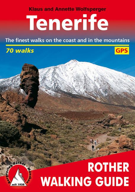 Wandelgids Tenerife (Engels)   Rother verlag