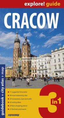 Reisgids Cracow - Krakow Guidebook + City Atlas + Map   ExpressMap   ?ukasz Zió?kowski
