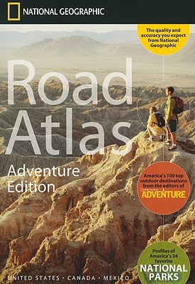 Wegenatlas Road Atlas Adventure Edition VS - Canada - Mexico - Puerto Rico   National Geographic