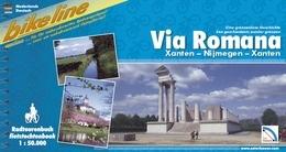 Fietsgids Via Romana Xanten - Nijmegen   Bikeline