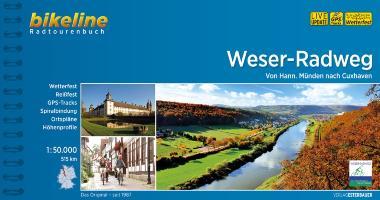 Fietsgids Weser radweg   Bikeline