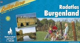 Fietsgids - Fietsroute Radatlas Burgenland   Bikeline Esterbauer