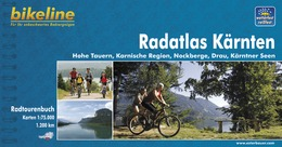 Fietsgids Radatlas Kärnten - Karinthië   Bikeline