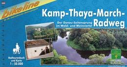 Fietsgids Kamp-Thaya-March radweg   Bikeline