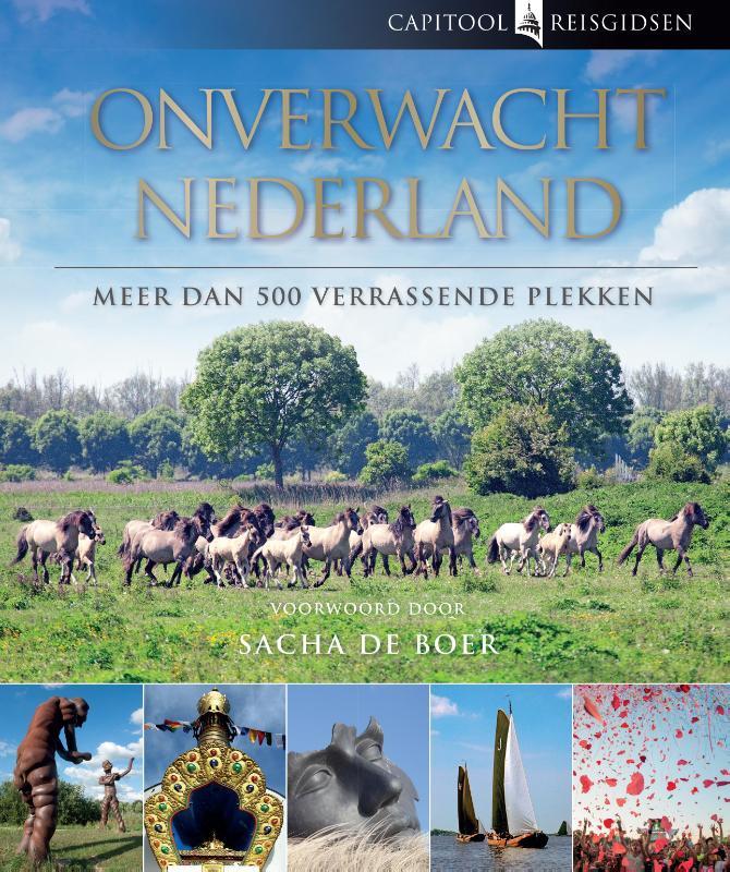 Reisgids Capitool onverwacht Nederland   Unieboek   Bartho Hendriksen