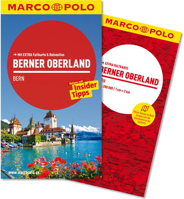 Reisgids Berner Oberland (duits)   Marco Polo
