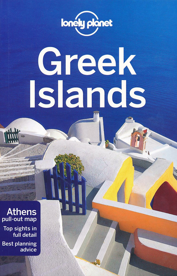 Reisgids Greek Islands - Griekse Eilanden   Lonely Planet