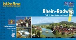 Fietsgids Rhein radweg 1 (Zwitserland: Andermat - Basel)   Bikeline