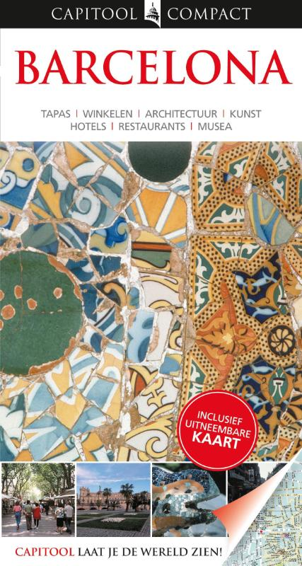 Reisgids Capitool compact Barcelona   Unieboek   Annelise Sorensen,Ryan Chandler