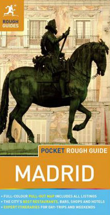 Reisgids Pocket Rough Guide Madrid   Rough Guides   Simon Baskett