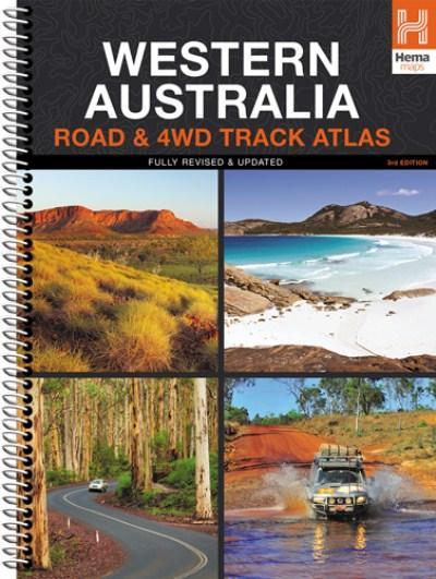 Wegenatlas West Australia - Road & 4WD Track Atlas Australie   Hema maps