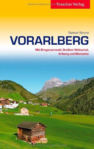 Reisgids Vorarlberg   Trescher Verlag   Gunnar Strunz