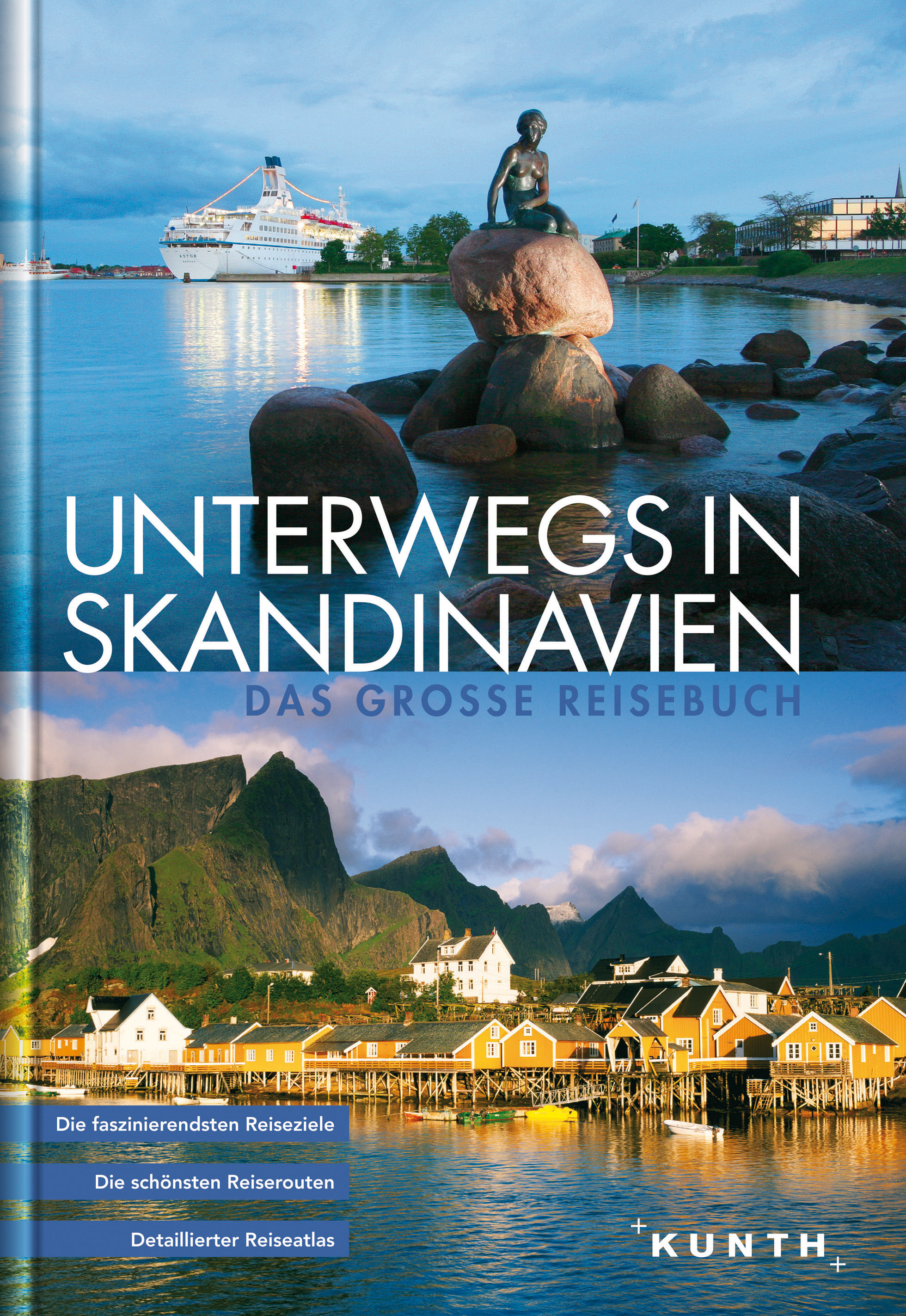 Reisgids - fotoboek Unterwegs in Skandinavien Scandinavie   Kunth