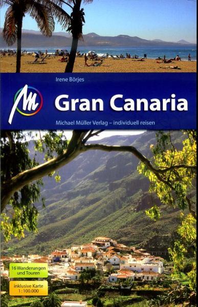 Reisgids Gran Canaria   Michael Muller Verlag