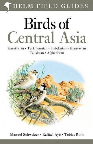 Vogelgids Centraal Azie - Birds of Central Asia   Helm field guides