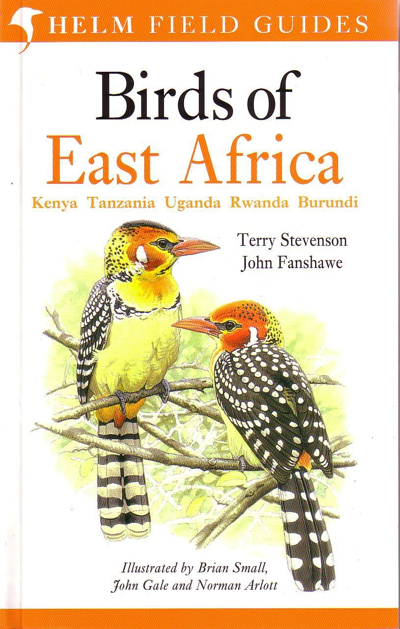 Vogelgids Oost Afrika - Birds of East Africa   Helm Field guides