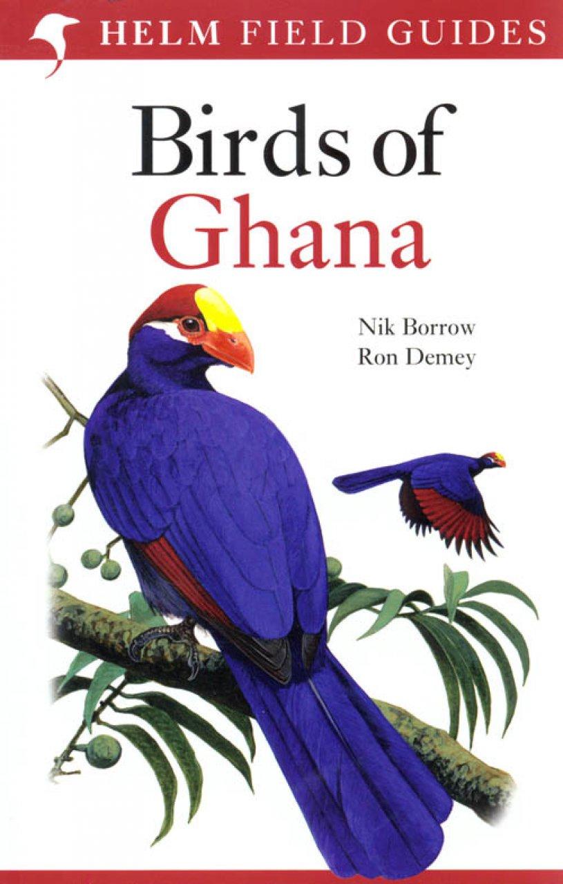 Vogelgids Ghana - birds of Ghana   Helm field guides