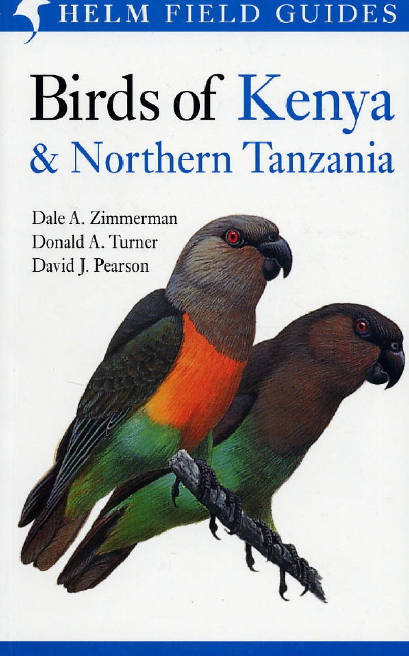 Vogelgids Kenia - noord Tanzania, Birds of Kenya and Northern Tanzania   Helm field guides
