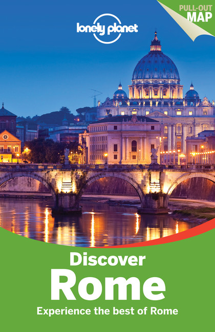Reisgids Lonely Planet Discover Rome   Lonely Planet   Abigail Blasi
