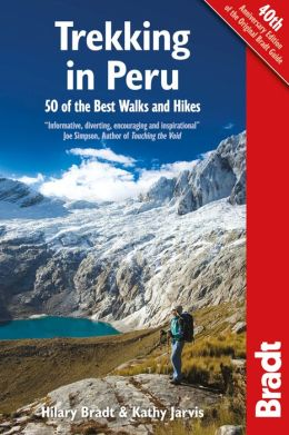Wandelgids Trekking in Peru   Bradt guide   Hilary Bradt
