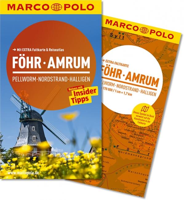 Reisgids Reisef�hrer F�hr, Amrum, Pellworm, Nordstrand, Halligen   Marco Polo   Barbara Dobrick