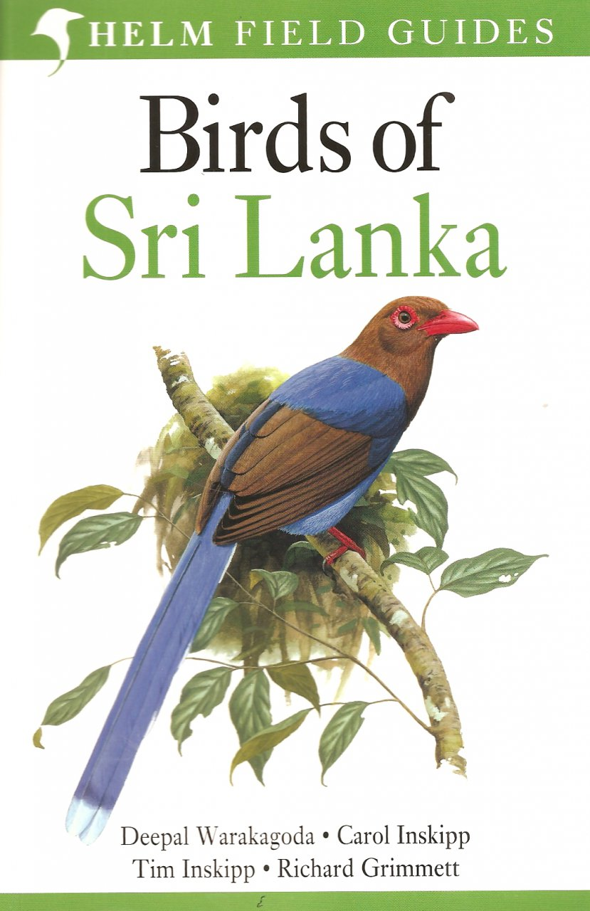 Vogelgids Sri Lanka - Birds of Sri Lanka   Helm Field guides