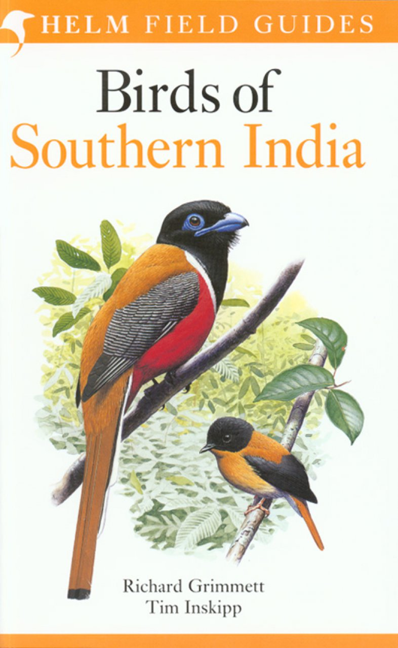 Vogelgids Zuid India - Birds of Southern India   Helm field guide