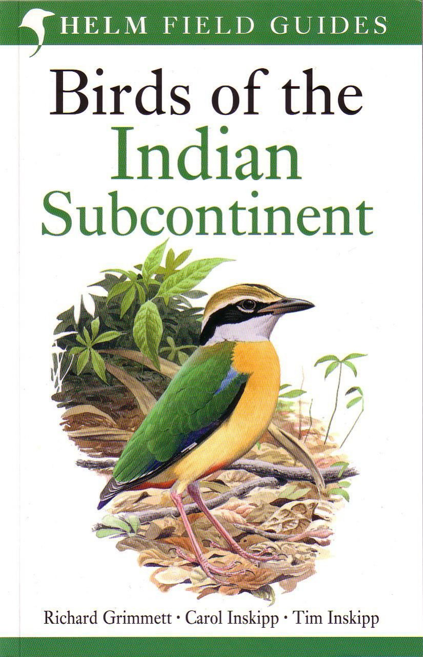 Vogels India - Nepal - Sri Lanka, Birds of the Indian Subcontinent   Helm field guide