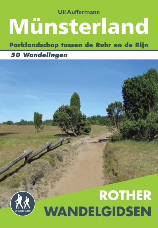 Wandelgids M�nsterland (Nederlandstalig)   Rother Elmar   Uli Auffermann