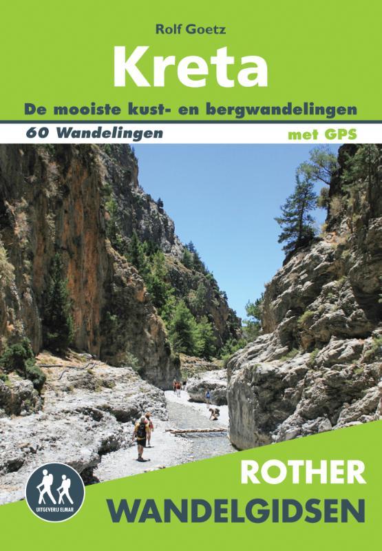 Wandelgids Kreta (Nederlandstalig)   Rother Elmar   Rolf Goetz