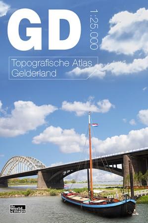 Topografische Atlas provincie Gelderland   12 provinci�n