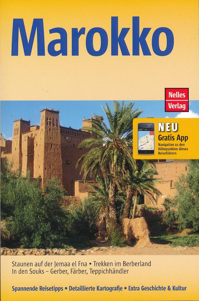 Reisgids Marokko (duitstalig)   Nelles