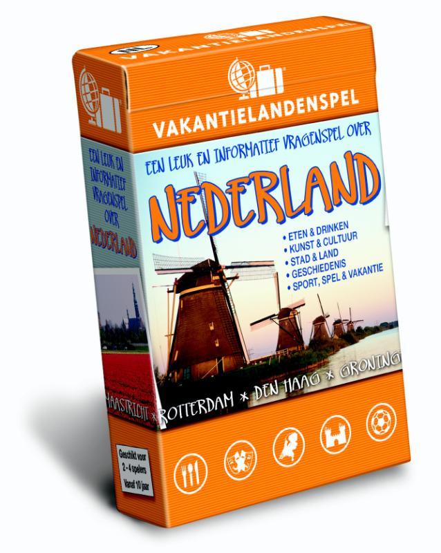 Spel - Vakantielandenspel Nederland   Scala Leuker Leren