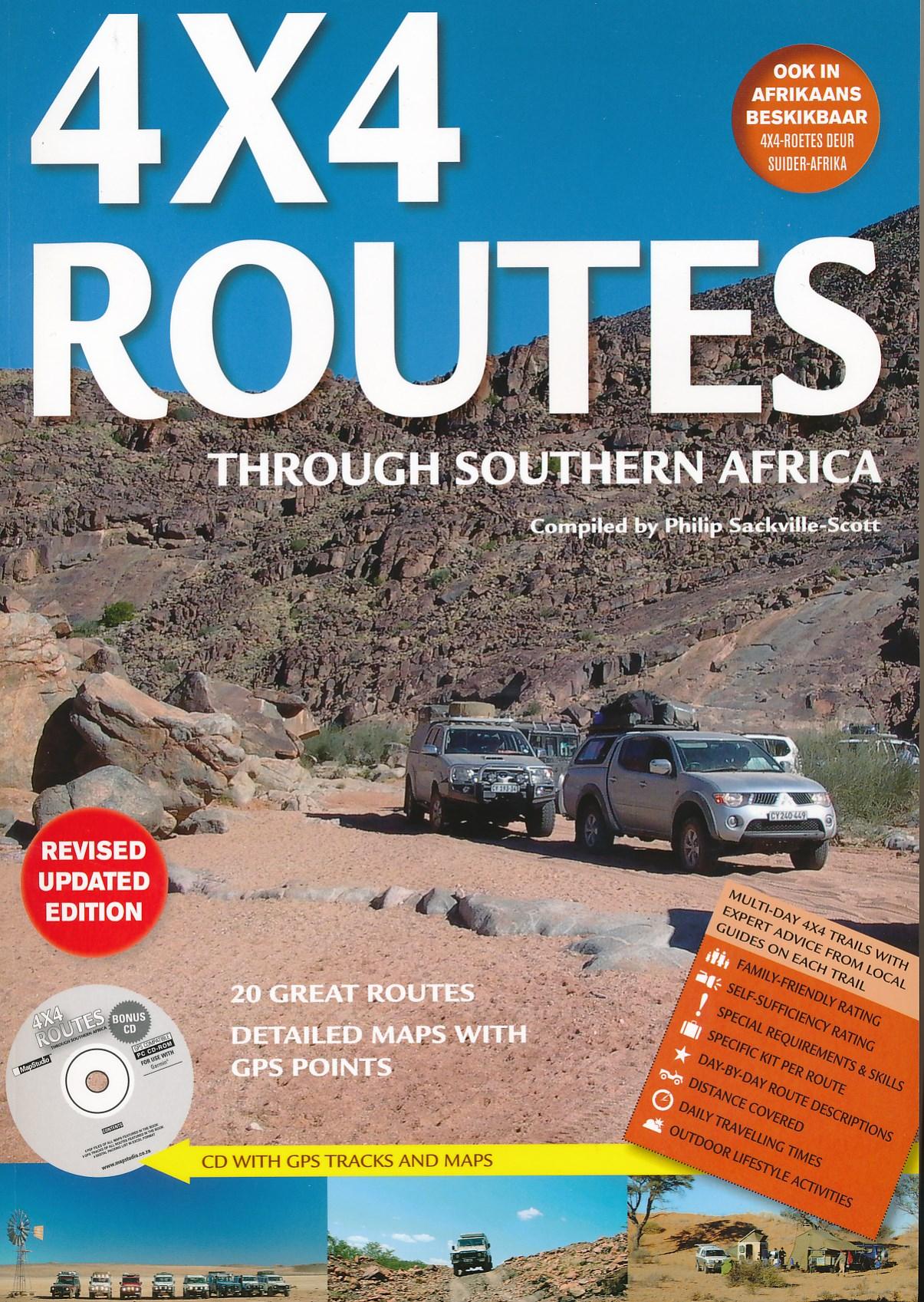 Wegenatlas Zuidelijk Afrika - Southern Africa 4x4 Routes   Mapstudio
