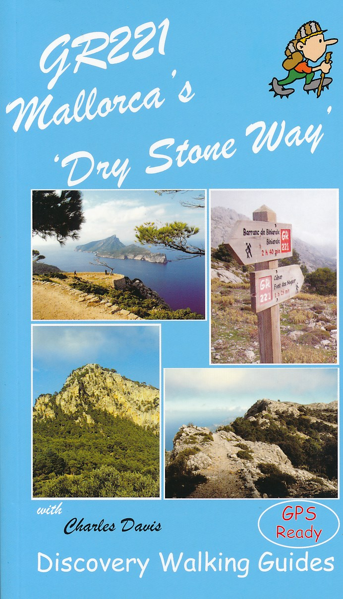 Wandelgids GR221 Mallorca's Long Distance Trail   Discovery Walking guides   Charles Davis